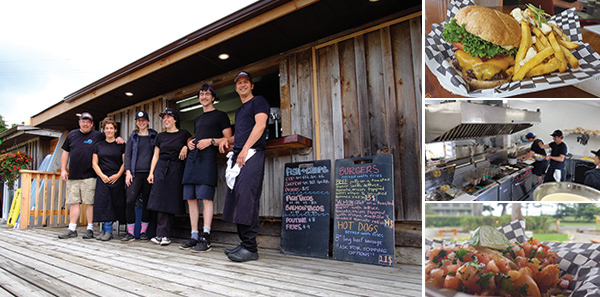 Surfside Grill now open at Pacific Sands, Tofino BC