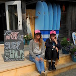 Allure Magazine article featuring Pacific Sands Surf Shack - Tofino BC