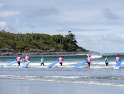 Primetime Surf Waves + Events On Now - Pacific Sands, Tofino BC