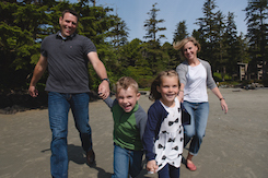 Family Time-out in Tofino - Pacific Sands, Tofino BC