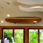 Bob MacPherson surfboard - Pacific Sands, Tofino BC