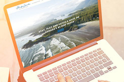 Introducing our new website - Pacific Sands, Tofino BC
