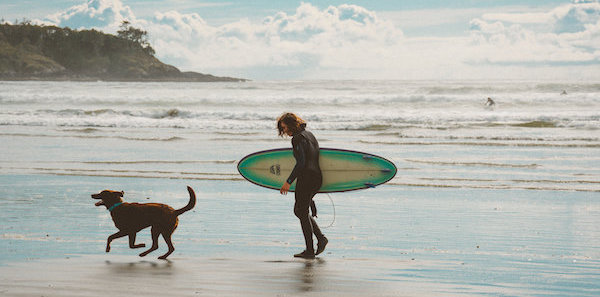Paws + Pause October Pet Offer @ Pacific Sands, Tofino BC
