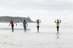 Queen of the Peak Surf Event + Fan Giveaway - Pacific Sands, Tofino BC
