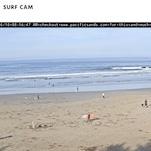 Surf Cam - Pacific Sands, Tofino BC